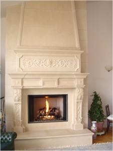 Marvelous Marble Inc Company has standing repute for custom fireplace mantels in 20ft or even more ceiling high great rooms in north america