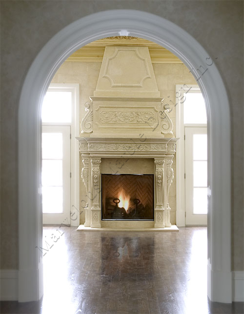 limestone fireplace Mantel » techniques to clean limestone ...