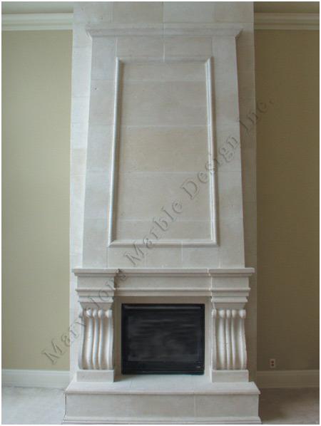 limestone fireplace Mantel » custom limestone fireplace mantels ...